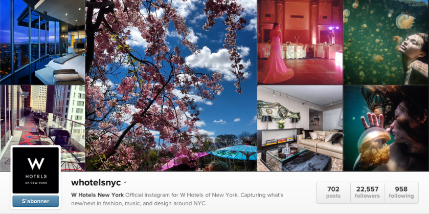 w hotels nyc instagram
