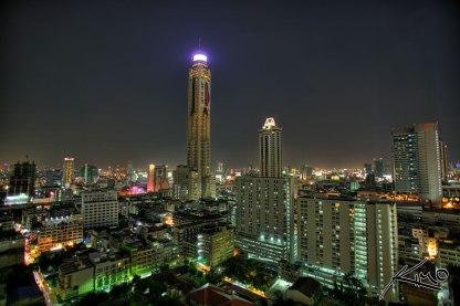 La Baiyoke Tower II à Bangkok ©Kim Seng