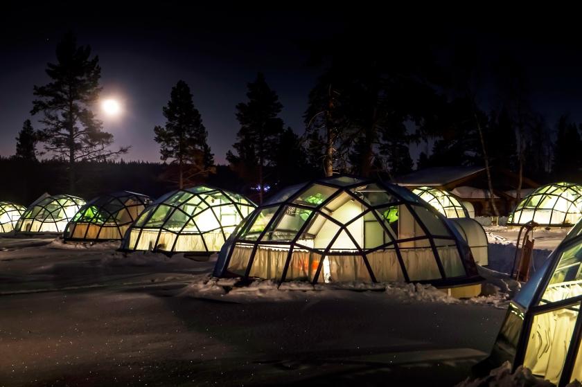 Crédit : Kakslauttanen Arctic Resort
