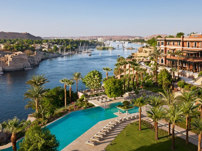 Sofitel Old Cataract, Assouan, Egypte