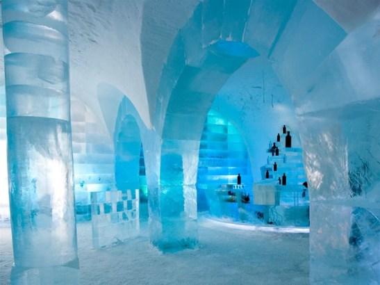 Icebar, Icehotel, Suède
