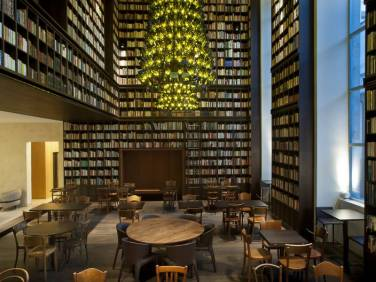Library Lounge, B2 Boutique Hotel, Zurich