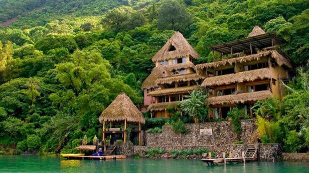 Laguna Lodge, lac Atitlan, Guatemala