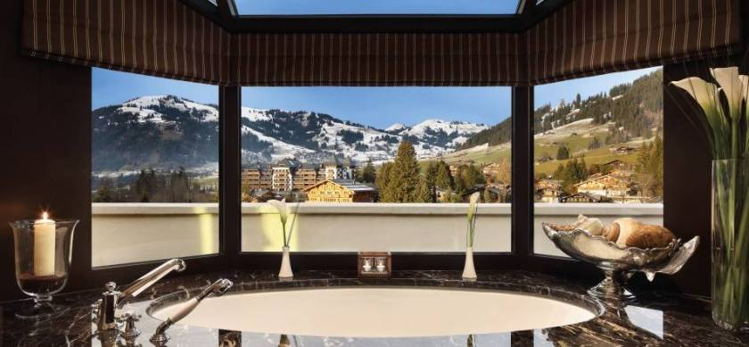 Penthouse Suite Gstaad Palace