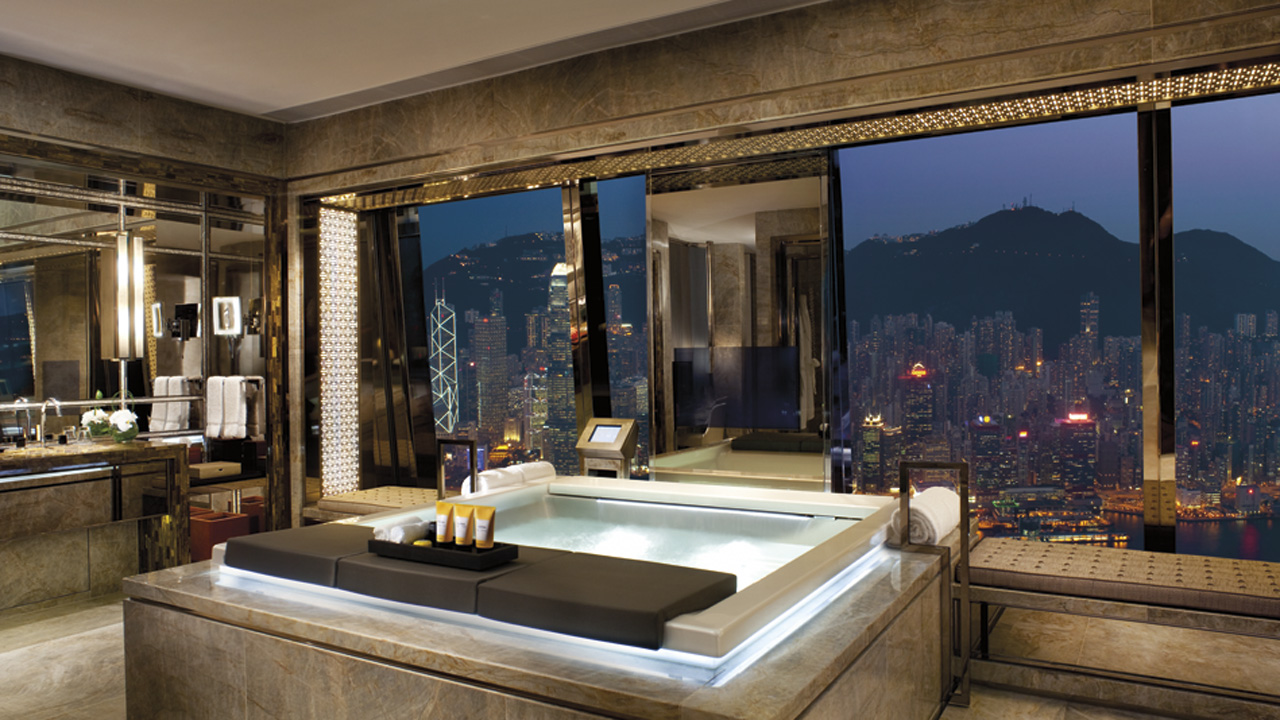 crdit photo ritz carlton hong kong - Belles Salles De Bain Photos